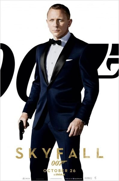 Skyfall, une actrice française est devenu la James Bond Girl skyfall